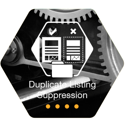 Duplicate-Listing-Suppression